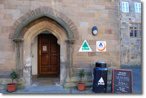 entrance to Whitby YHA