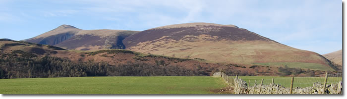 Skiddaw from Castlerigg Stone Circle