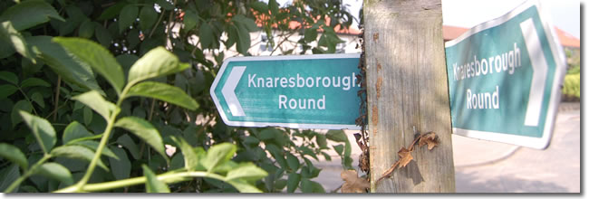 Knaresborough Round signpost