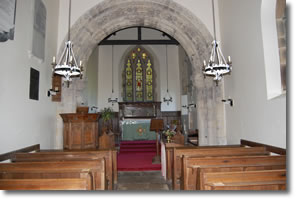 inside St Ethelburghs Church