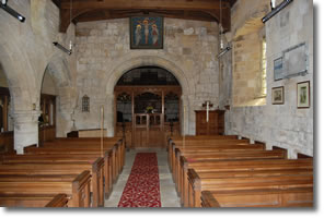 inside St Marys Church Fridaythorpe