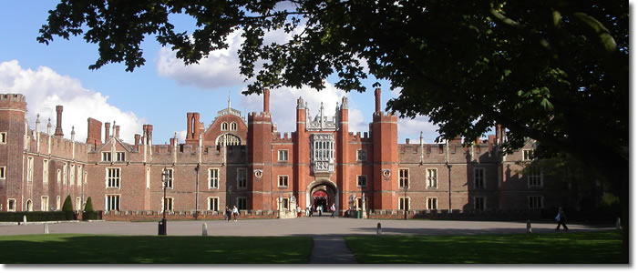 Hampton Court on The Thames Path