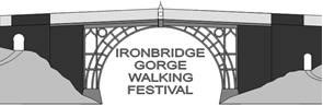Ironbridge Gorge Walking Festival logo